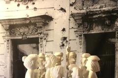 Im Dialog - Installation für VIVAT PAX - Showroom - Stadthaus-Galerie Münster